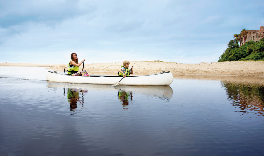canoeing for families